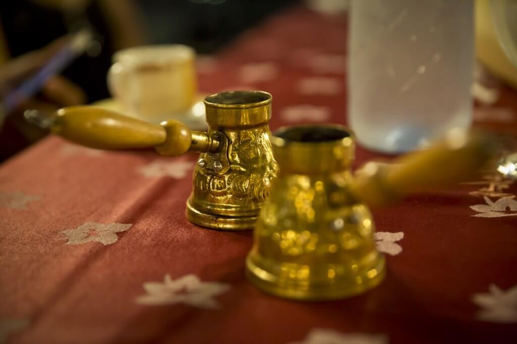 Turkish coffee pots in Raleigh